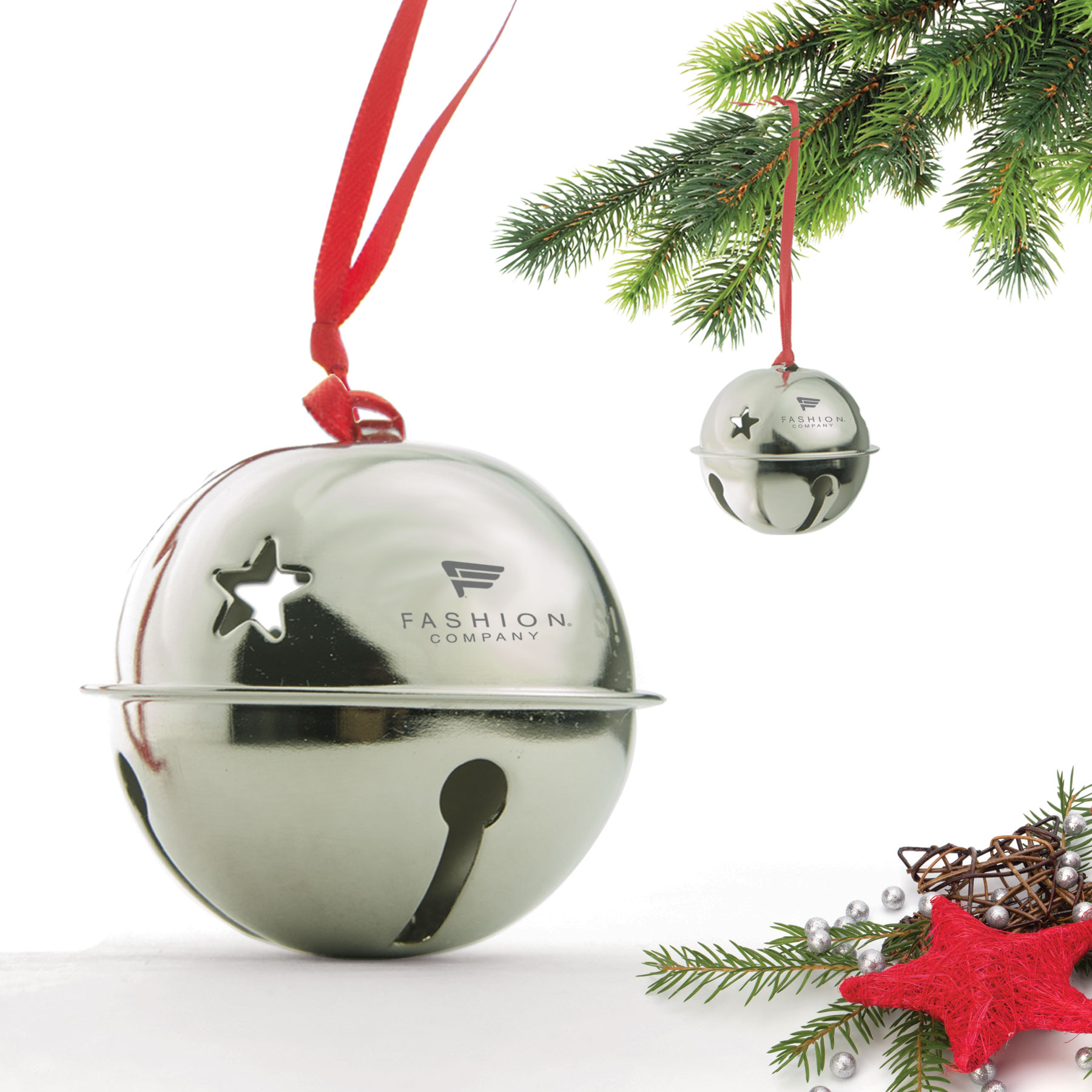 Ball Bell Ornaments