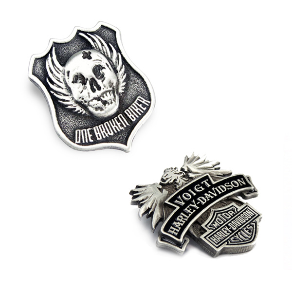 Solid Pewter Lapel Pins